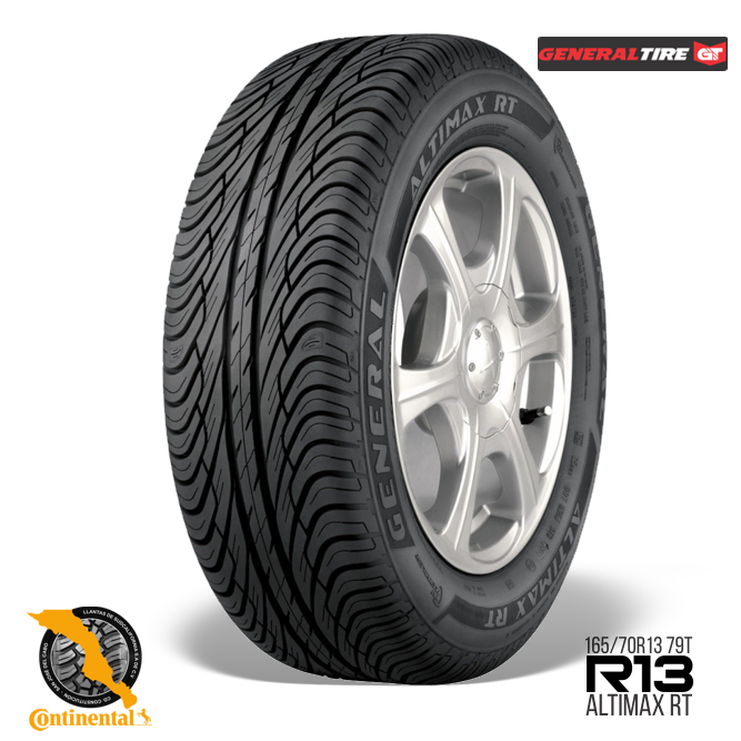 Altimax RT R13 165 70 - General Tire Altimax RT 165/70 R13