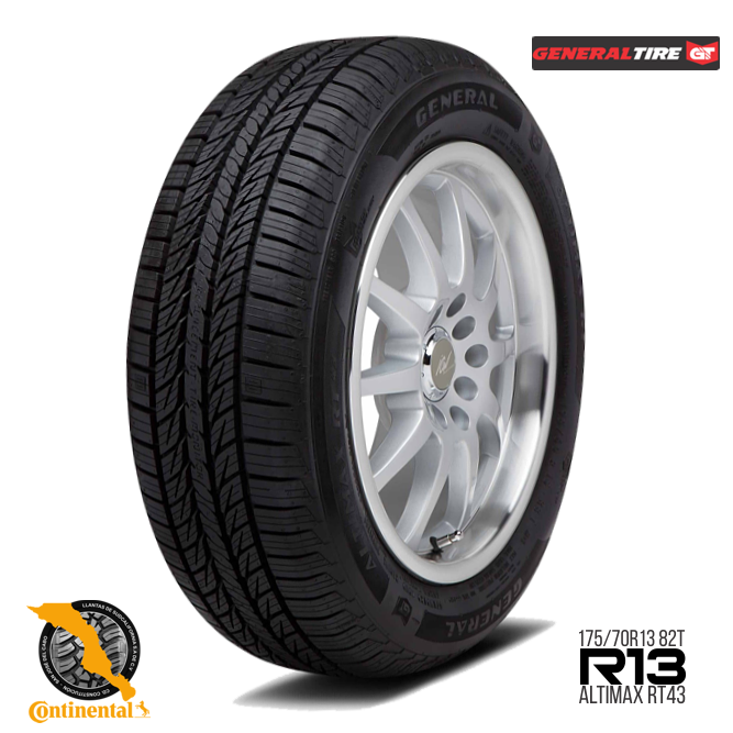 Altimax RT43 175 70 R13 - General Tire Altimax RT43 175/70 R13