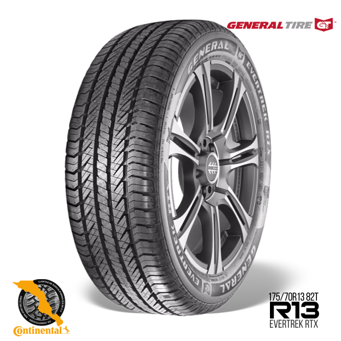 15503520000 1 - General Tire Evertrek RTX 175/70 R13